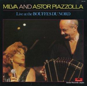 ミルバ/アストル・ピアソラ - live at the bouffes du nord - 825125-1