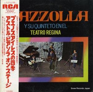 アストル・ピアソラ - ブエノスアイレスの四季/アストル・ピアソラ・オン・ステージ - RCA-5154