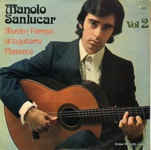 マノーロ・サンルーカル - mundo formas de la guitarra flamenca vol.2 - S65405
