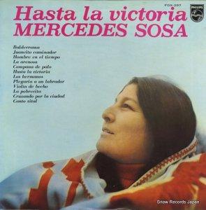 メルセデス・ソーサ - 勝利のときまで - FDX-297