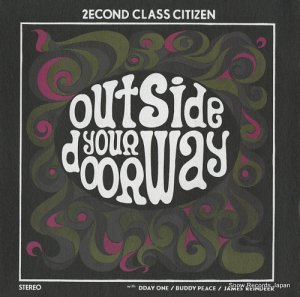 2ECOND CLASS CITIZEN - outside your doorway ep - EQX-037