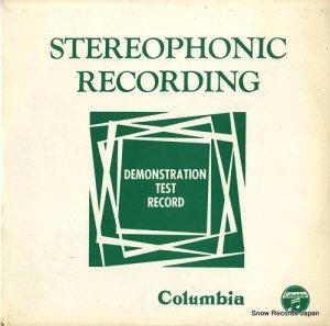 V/A - コロムビア・ステレオ・フィデリティ・レコード/ステレオ・レコードへのお誘い - TD-5001