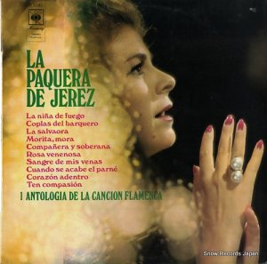 ラ・パケーラ・デ・ヘレス - antologia de la cancion flamenca, i - S53180
