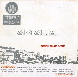 アマリア・ロドリゲス - com que voz - SPMX5012