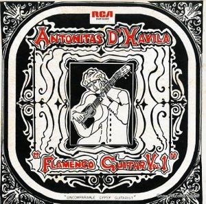 アントニタス・ダヴィーラ - フラメンコ・ギターの彗星 - RVP-6350