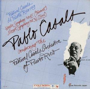 パブロ・カザルス - festival casals de puerto rico 1959 - ML5449
