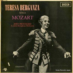 テレサ・ベルガンサ - teresa berganza sings mozart - LXT6045/SXL.6045
