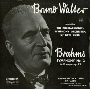 ブルーノ・ワルター - brahms; symphony no.2 in d major op.73 - ABL3095