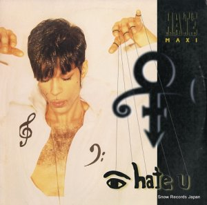 THE ARTIST (FORMERLY KNOWN AS PRINCE) - i hate u (the hate experience) - 943592-0