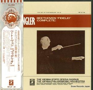 ヴィルヘルム・フルトヴェングラー - ベートーヴェン:歌劇「フィデリオ」(全曲) - WF-37-39
