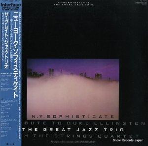 ザ・グレイト・ジャズ・トリオ - ニューヨーク・ソフィスティケイト/デューク・エリントンに捧ぐ - YF-7084