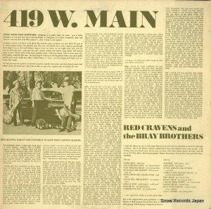 レッド・クレイヴンス&ザ・ブレイ・ブラザース - 419 w.main - ROUNDER0015