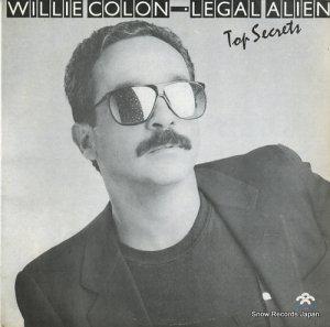 ウィリー・コロン/リーガル・エイリアン - top secrets - LPS-2033