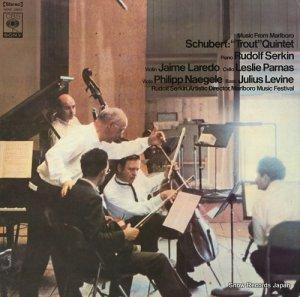 ルドルフ・ゼルキン - シューベルト:ピアノ五重奏曲イ長調作品114「ます」 - SONC10057