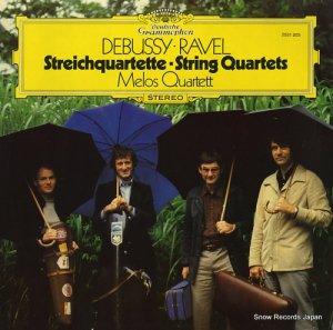 メロス・クヮルテット - debussy/ravel; string quartets - 2531203
