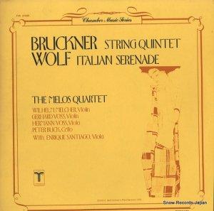 メロス・クヮルテット - bruckner; string quartet - TVC37005