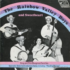 THE RAINBOW VALLEY BOYS AND SWEETHEART - sing and pick bluegrass favorites - MB136