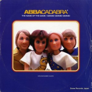 ABBACADABRA - the name of the game / gimme! gimme! - 12ALMY91