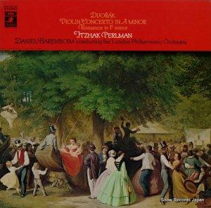 イツァーク・パールマン - ドヴォルザーク:ヴァイオリン協奏曲イ短調作品53 - EAC-80183