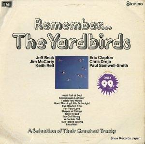 ザ・ヤードバーズ - remember... the yardbirds - SRS5069