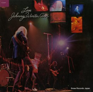 ジョニー・ウィンター - live / johnny winter and - PC30475