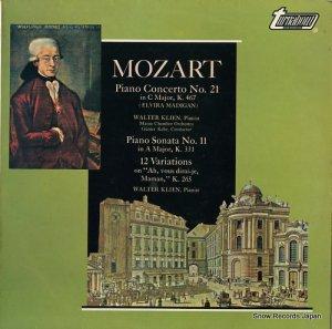 ヴァルター・クリーン - mozart; piano concerto no.21 - TV34504S