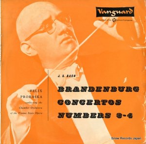 フェリックス・プロハスカ - bach; brandenburg concertos numbers 3-4 - PVL7016