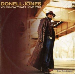 ドネル・ジョーンズ - you know that i love you - 74321956961