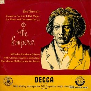 ウィルヘルム・バックハウス/クレメンス・クラウス - beethoven; concerto no.5 in e flat major for piano and orchestra op.73