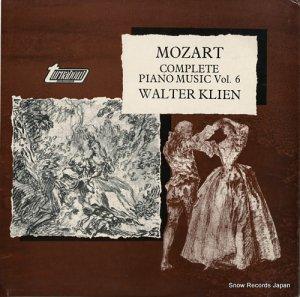 ヴァルター・クリーン - mozart; complete piano music vol.6 - TV37006S