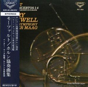 バリー・タックウェル - モーツァルト:ホルン協奏曲集 - SLC1363
