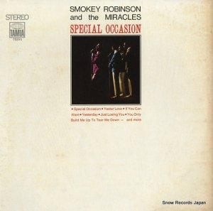 スモーキー・ロビンソンとザ・ミラクルズ - special occasion - TS290