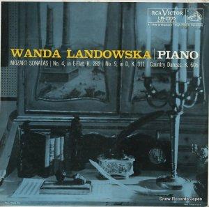 ワンダ・ランドフスカ - mozart; sonatas - LM2205