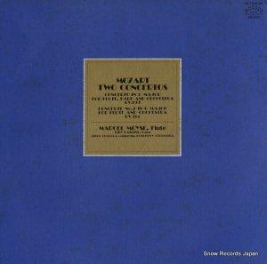 マルセル・モイーズ - モーツァルト:フルートとハープのための協奏曲ハ長調/フルート協奏曲第2番ニ長調 - OZ-7543-RC