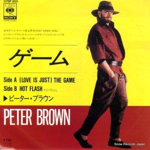 ピーター・ブラウン - ゲーム - 07SP855