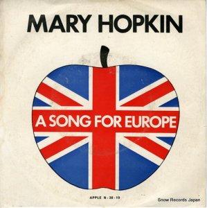 メリー・ホプキン - a song for europe - N-38-19