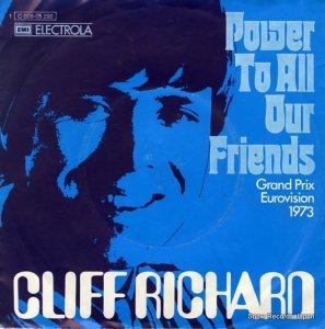 クリフ・リチャード - power to all our friends - 1C006-05290