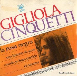 ジリオラ・チンクエッティ - la rosa negra - EP6433