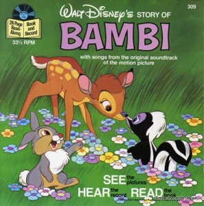 ウォルト・ディズニー - story of bambi - DISNEYLAND309