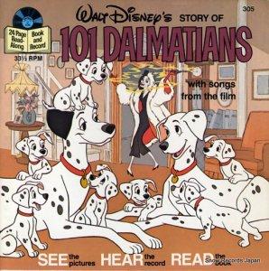 ウォルト・ディズニー - story of 101 dalmatians - DISNEYLAND305