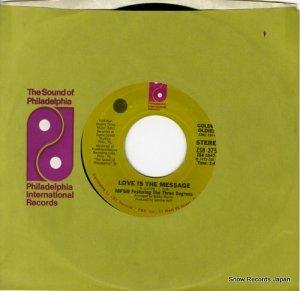 ボビー・マーチン&MFSBとスリー・ディグリース - love is the message - ZS83756