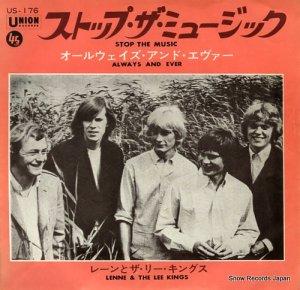 レーンとザ・リー・キングス - ストップ・ザ・ミュージック - US-176