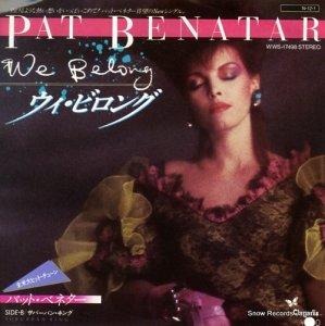 パット・ベネター - ウィ・ビロング - WWS-17498