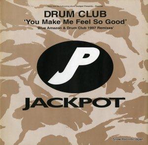 ドラム・クラブ - you make me feel so good (blue amazon & drum club 1997 remixes) - WIN018