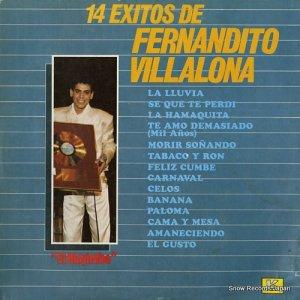 FERNANDITO VILLALONA - 14 exitos de fernandito villalona - LPE-17057