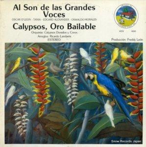 V/A - al son de las grandes voces / calypsos, oro bailable - 4059/4060