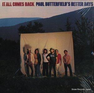 ポール・バターフィールド - it all comes back - RNLP70878