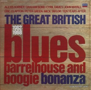 V/A - the great british blues / barrelhouse and boogie bonanza 1962-1968 - TAB53