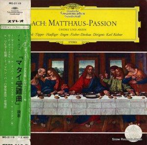 カール・リヒター - バッハ:「マタイ受難曲」 - MG-2119