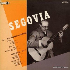 アンドレス・セゴビア - ギター・リサイタル - MCA-2010